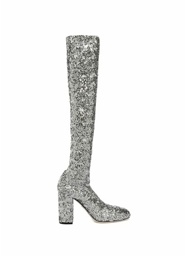Dolce&Gabbana Bot Gümüş